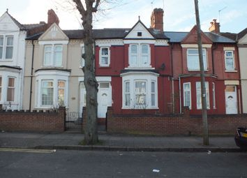 Thumbnail 6 bed terraced house for sale in St Saviours Road, Leicester