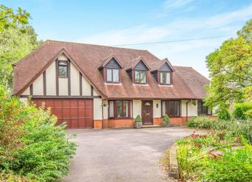 Thumbnail 4 bed detached house for sale in Salisbury Road, Shootash, Romsey