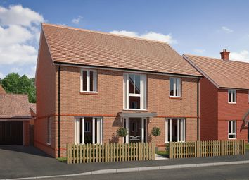 "Thumbnail 4 bed detached house for sale in ""The Cresswell"" at Saunders Way, Basingstoke"