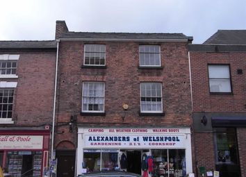 Thumbnail 1 bed flat to rent in Flat 2, 29, Broad Street, Welshpool, Welshpool, Powys