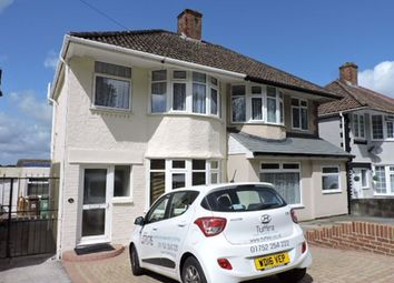 Thumbnail 3 bed semi-detached house to rent in Weston Mill Road, St Budeaux, Plymouth