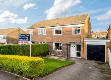 Thumbnail 3 bed semi-detached house for sale in Burnside Road, Harrogate, North Yorkshire