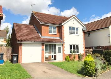 Thumbnail 4 bed detached house for sale in Kendal Close, Northampton
