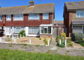 Thumbnail 3 bed end terrace house for sale in St. Giles Close, Shoreham-By-Sea, West Sussex