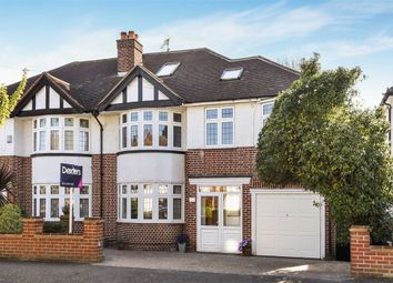 Thumbnail 5 bed semi-detached house for sale in Chiltern Drive, Berrylands, Surbiton