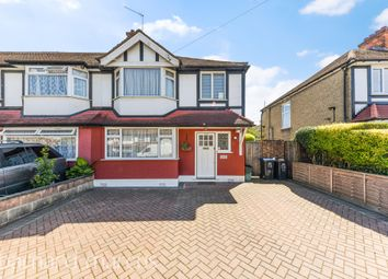 Thumbnail 3 bed end terrace house for sale in Sherwood Park Road, Mitcham