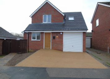 Thumbnail 3 bedroom detached house for sale in Clover Close, Needham Market, Ipswich