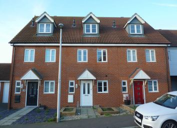 Thumbnail 3 bed terraced house for sale in Gudgeon Crescent, Hoo, Rochester