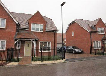 Thumbnail 3 bedroom semi-detached house for sale in Rossetti Lane, Tadpole Garden Village, Swindon