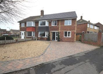 Thumbnail 5 bed semi-detached house for sale in Glastonbury Gate, Scawsby, Doncaster