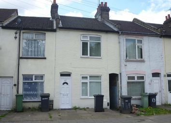 Thumbnail 3 bed terraced house for sale in Bury Park Road, Luton