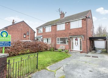 Thumbnail 3 bed semi-detached house for sale in Old Hall Drive, Ashton-In-Makerfield, Wigan