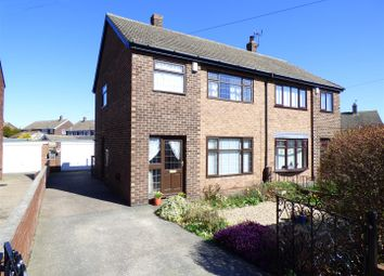 Thumbnail 3 bed semi-detached house for sale in Frensham Drive, Castleford
