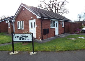 Thumbnail 2 bed semi-detached bungalow for sale in Grassmoor Close, Bromborough, Wirral