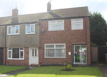 Thumbnail 3 bed end terrace house for sale in Cumberland Crescent, Haydock, St Helens, Mersryside