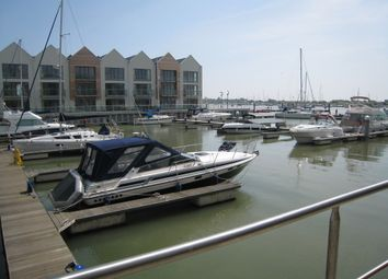 Thumbnail 2 bed flat to rent in Waterside Marina, Brightlingsea, Colchester