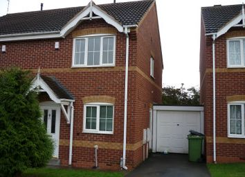 Thumbnail 2 bed semi-detached house to rent in Kings Meadow, Nuneaton