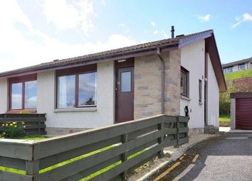 Thumbnail 2 bedroom semi-detached bungalow for sale in 33 Balnafettack Road, Balnafettack, Inverness