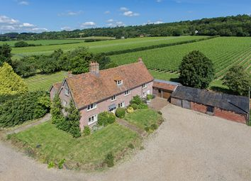 Thumbnail 5 bed farmhouse to rent in Squerryes Estate, Westerham