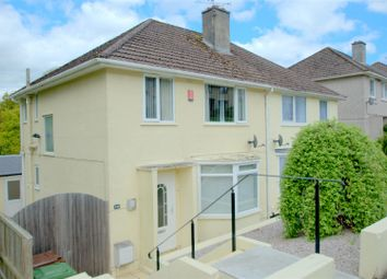 Thumbnail 3 bed semi-detached house for sale in Fountains Crescent, Plymouth