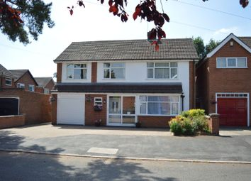 Thumbnail 4 bed detached house for sale in Kent Drive, Oadby, Leicester