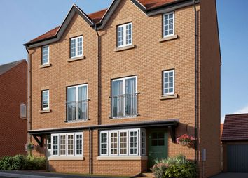 "Thumbnail 4 bed semi-detached house for sale in ""The Pilsgate"" at Coventry Road, Cawston, Rugby"