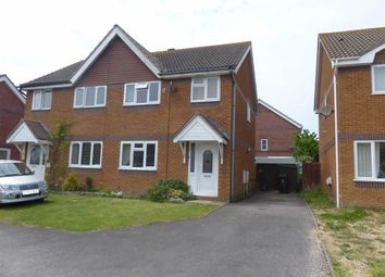Thumbnail 3 bed semi-detached house for sale in Plover Drive, Weymouth, Dorset