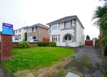 Thumbnail 3 bed detached house for sale in Dorchester Road, Oakdale, Poole
