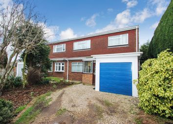 Thumbnail 4 bed semi-detached house for sale in Golden Manor Drive, Benfleet