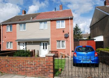 Thumbnail 3 bedroom semi-detached house for sale in Cobbett Crescent, South Shields