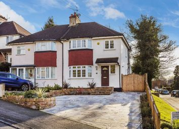 Thumbnail 3 bed semi-detached house for sale in St. James Road, Purley