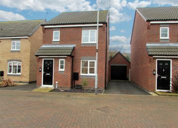 Thumbnail 3 bedroom detached house for sale in Albert Road, Countesthorpe, Leicester