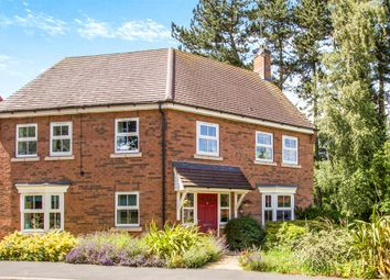 Thumbnail 4 bed detached house for sale in Burgess Drive, Earl Shilton, Leicester
