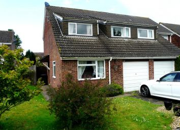 Thumbnail 3 bedroom semi-detached house to rent in De Montfort Grove, Hungerford
