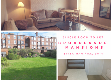 Thumbnail Room to rent in Broadlands Avenue, Streatham Hill
