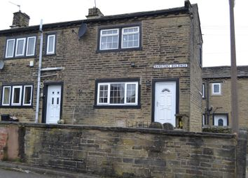 Thumbnail 2 bed end terrace house for sale in Bairstows Buildings, Halifax