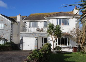 Thumbnail 5 bed detached house for sale in The Willows, Newquay