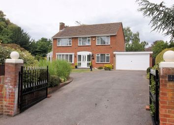 Thumbnail 4 bed detached house for sale in Peak Drive, Fareham