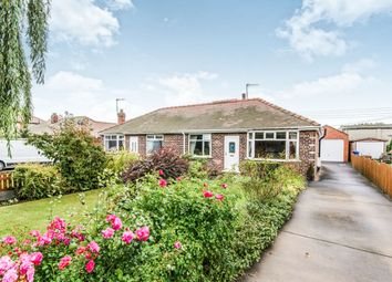 Thumbnail 2 bedroom semi-detached bungalow for sale in Snaith Road, Pollington, Goole