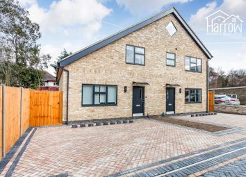 Thumbnail 2 bed semi-detached house for sale in Rayners Close, Wembley, Greater London