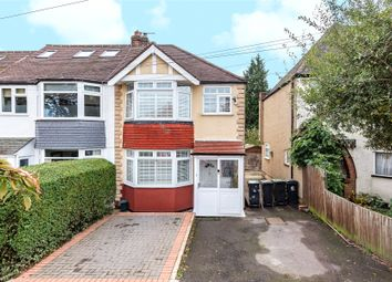 Thumbnail 3 bed end terrace house for sale in Oakwood Hill, Loughton, Essex