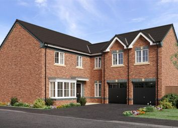 "Thumbnail 5 bed detached house for sale in ""Shakespeare"" at Sophia Drive, Great Sankey, Warrington"