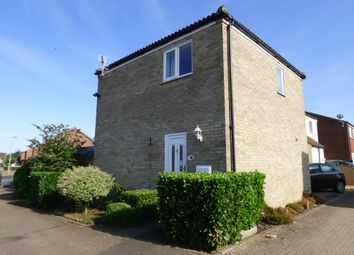 Thumbnail 3 bed link-detached house for sale in Porter Road, Long Stratton, Norwich