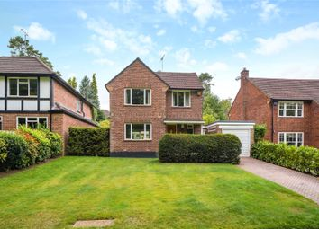 Thumbnail 3 bed detached house for sale in Roundhill Way, Cobham, Surrey