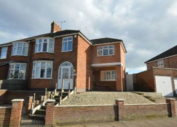 Thumbnail 3 bedroom semi-detached house for sale in Aylestone Road, Aylestone, Leicester