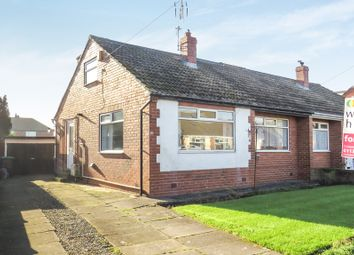 Thumbnail 3 bedroom semi-detached bungalow for sale in Milton Drive, Scholes, Leeds