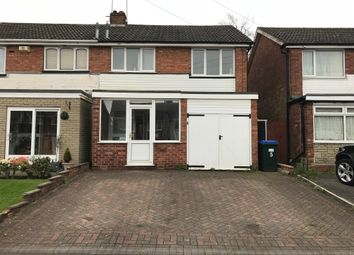 Thumbnail 3 bedroom semi-detached house for sale in Jill Avenue, Great Barr, Birmingham