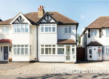 Thumbnail 3 bed semi-detached house for sale in Poole Road, West Ewell, Epsom