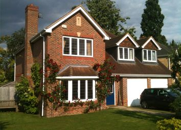 Thumbnail 5 bed detached house for sale in Lady Harewood Way, Epsom, Surrey