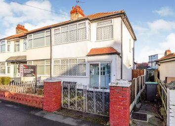 Thumbnail 3 bed end terrace house for sale in Cresswood Avenue, Thornton-Cleveleys, Lancashire, .